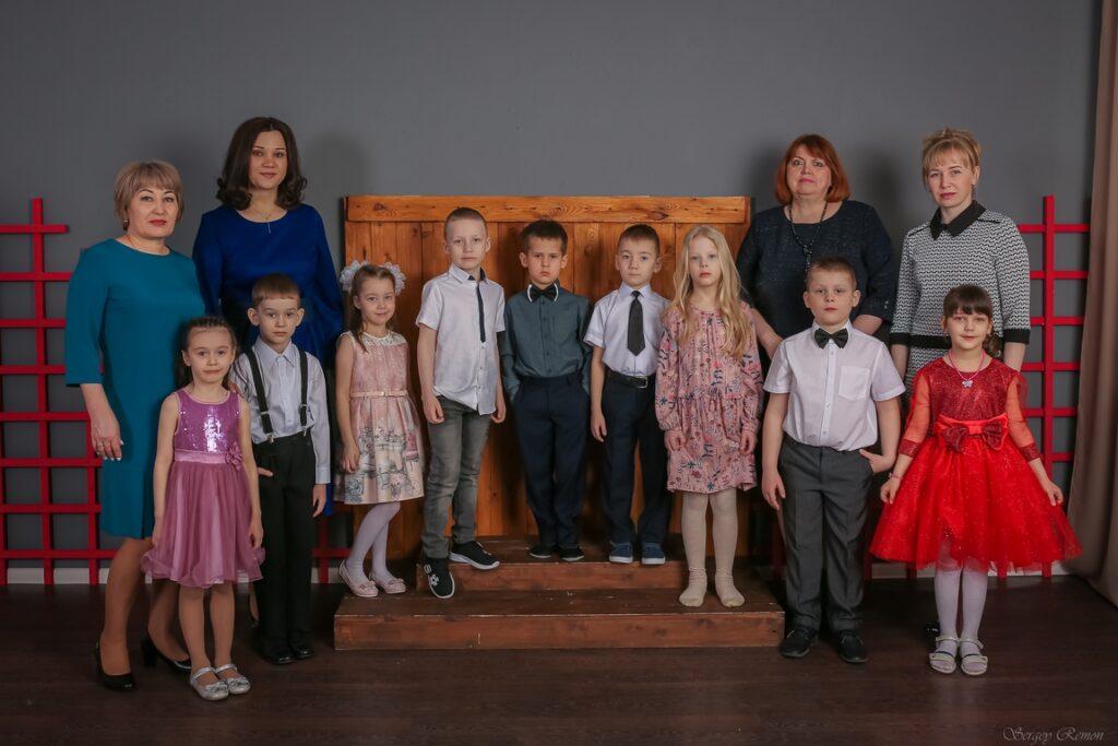 Общая фотография группы детского сада
